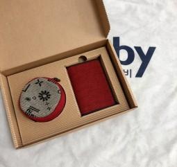 [1+1]동그라미파우치&카드지갑SET (선물포장비 포함상품)