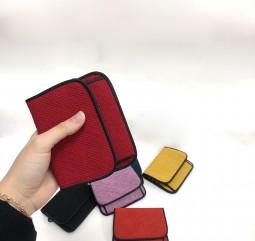 [신상] 플랩 카드지갑-7컬러(선물포장비 포함제품)